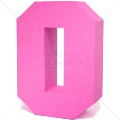Número Quadrado 3D 0