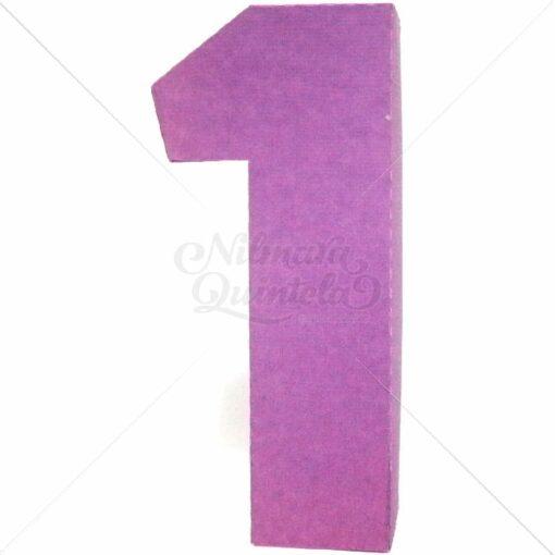 Número Quadrado 3D 1