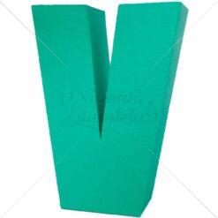 Letra Quadrada 3D V