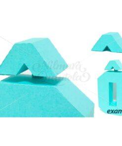 Acento Circunflexo Quadrado 3D ^