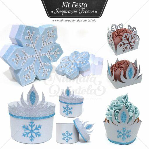 Pacote - Kit Festa - Inspiração Frozen
