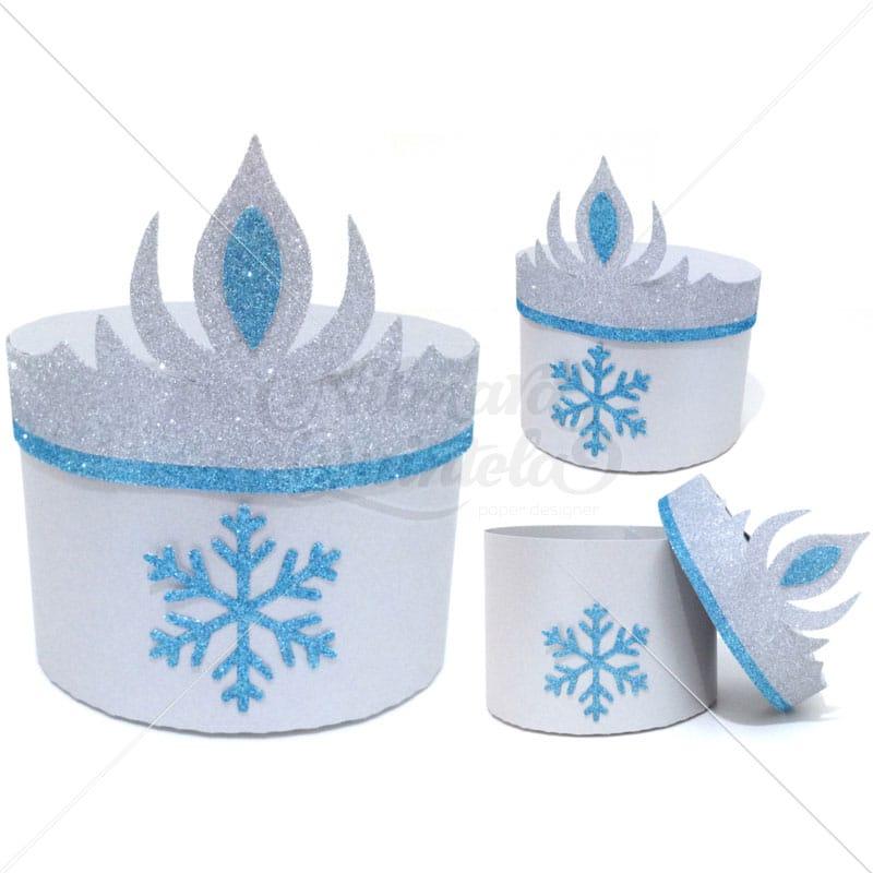 Caixa Coroa Gelo