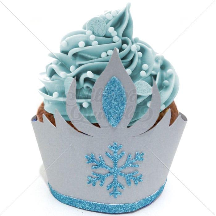 Sainha para Cupcake Coroa Gelo