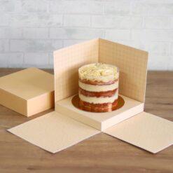 Caixa cenário para bolo