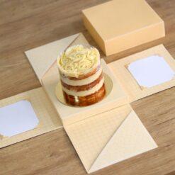 Caixa Explosão para bolo