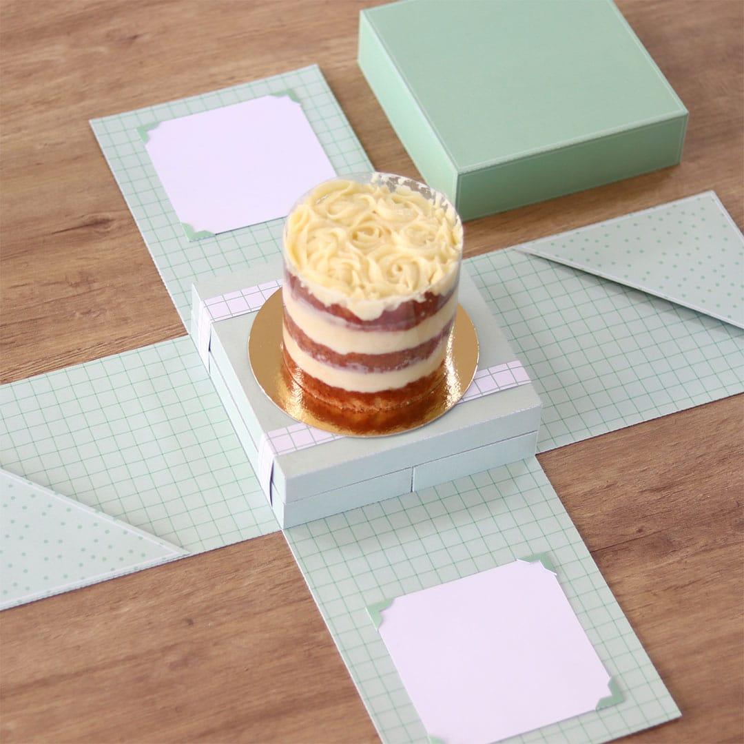 Caixa Explosão para bolo e doce