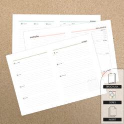 Insert - Primeiro Trimestre 2022 | Planner - Brochura