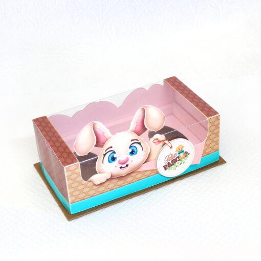 Caixa | Trio de Ovos de colher 50g – Coelhinho – A Bem Dita | Imprima, corte e monte