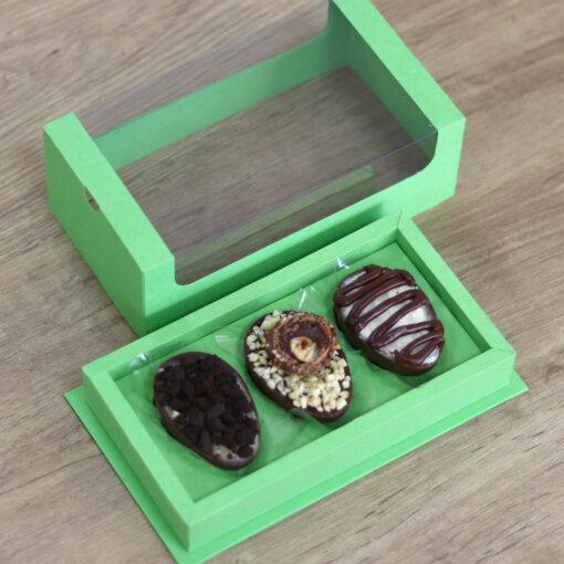 Caixa | Trio de Ovos de colher 50g