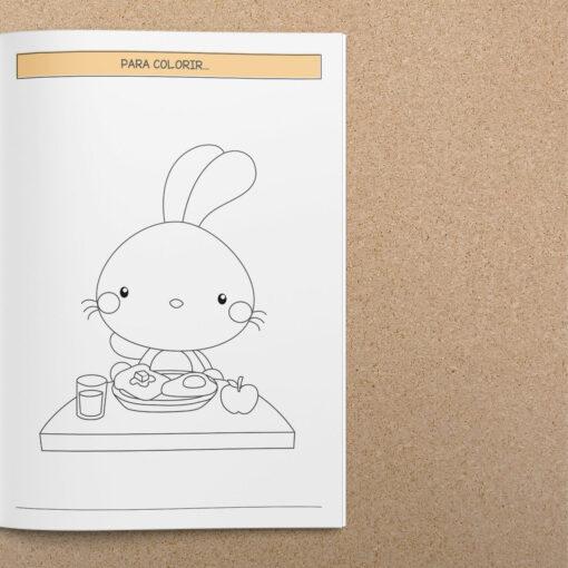 Caderno de atividades de Páscoa | A5 – Brochura